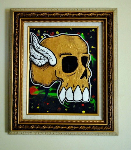Winged Skull I