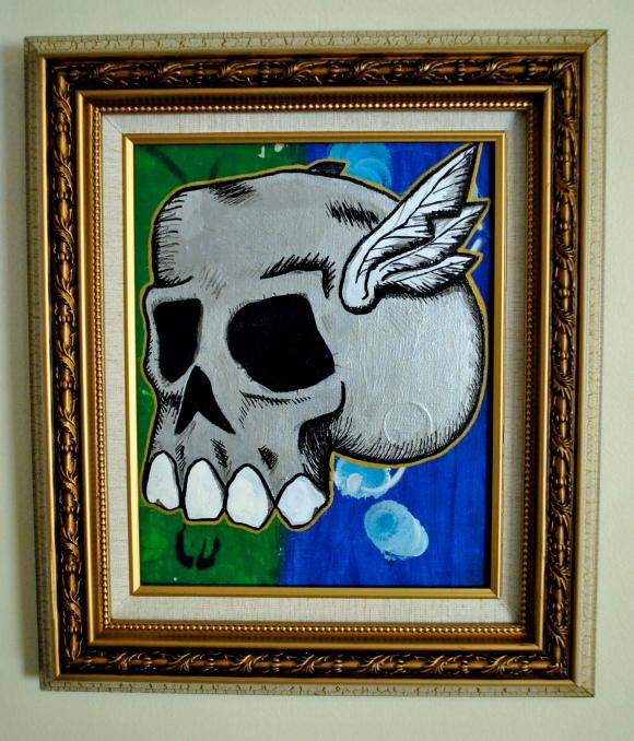 Winged Skull II