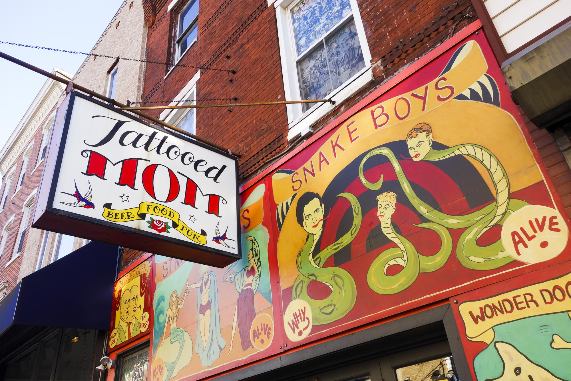 Tattooed Mom is located at 530 South Street in Philadelphia.